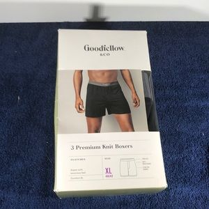 Good fellow and company premium knit boxers.